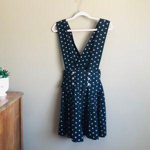 Vintage polka dot romper